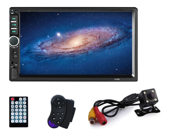 Autoestereo Mirrorlink Pantalla 7 Touch 7018b Mp5 1080p Hd