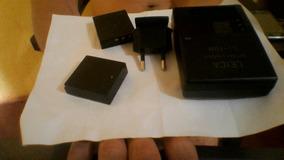Carregador Bcdc8 +2 Baterias Leica Originais Bp-dc8 1/2 Vida