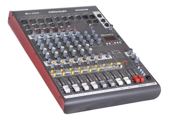 Mesa De Som Ll Audio Millenium M802d C/ 8 Canais