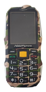 Celular Uso Rudo Naomi Phone Np6800 Power Bank