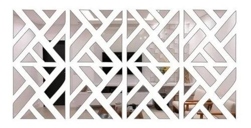 Espelho Decorativo Acrílico Mosaico Clássico
