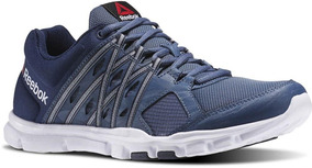 Tênis Reebok Yourflex Train 8.0 Azul - Treino - Caminhada