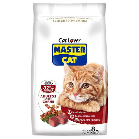 Master Cat Alimento Gato Adulto Carne 8 Kg