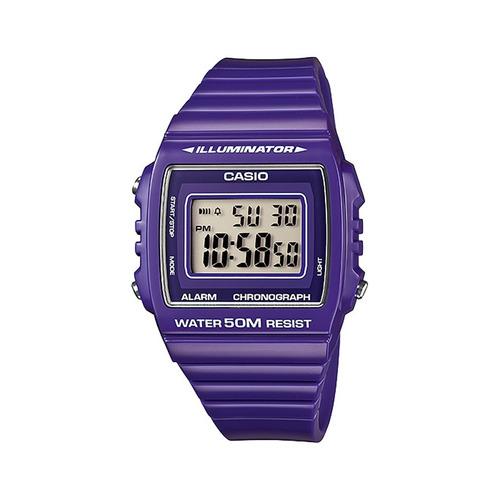 Reloj Casio Retro Vintage W-215h-6a Crono Wr50m Gtia 2 Años