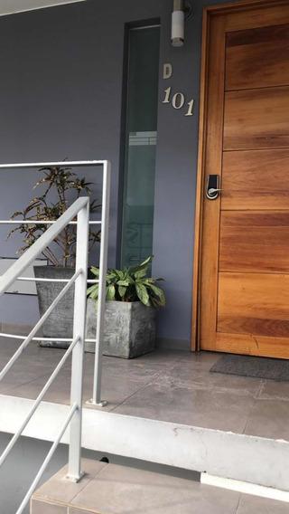 Hermoso Duplex Minimalista Con Acabados De Primera