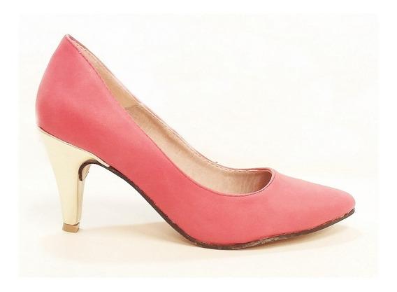 Stiletto Clasico Rosa - 550