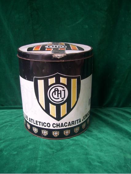 Lata De Pan Dulce Coleccionable Club Atletico Chacarita