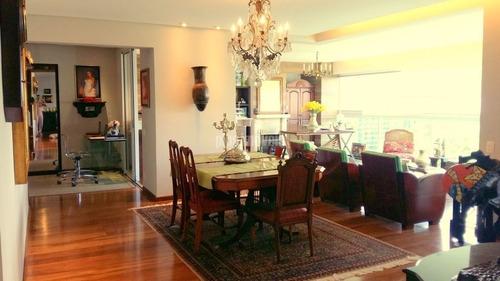 Apartamento 4 Com  Dormitórios 4 Suites 4 Vagas Deposito No Panamby! - Pp11870