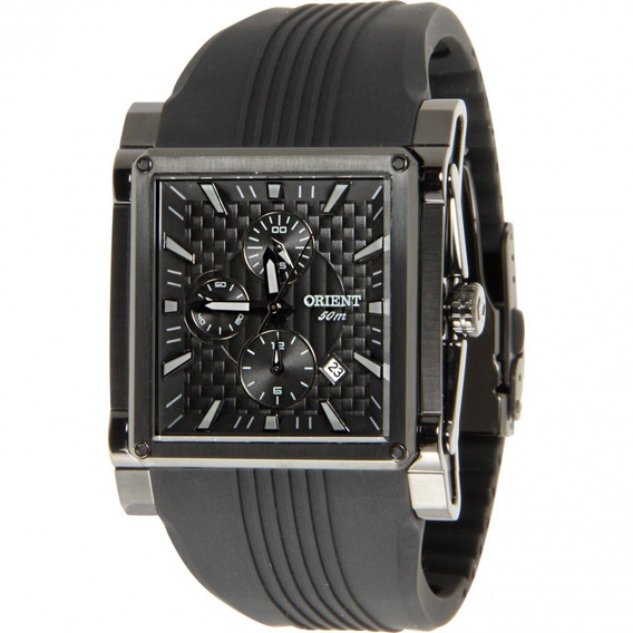 Relógio Orient Gpspc007 Masculino Vidro Cristal Mineral Belo