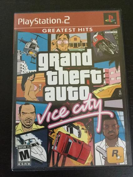 Grand Theft Auto Vice City Ps 2 Original Americano 2002