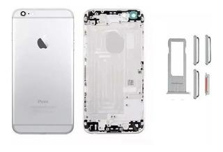 Carcaça Aro Chassi iPhone 6 4.7 Tampa Traseira Frete Grátis