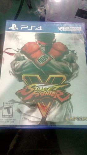Street Fighter V Ps4 Nuevo Y Sellado , Entrega Inmediata