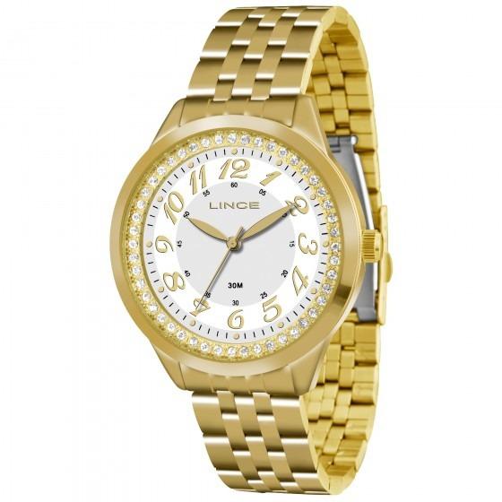 Relógio Lince Lrg4330l B2kx Urban Feminino Branco- Refinado