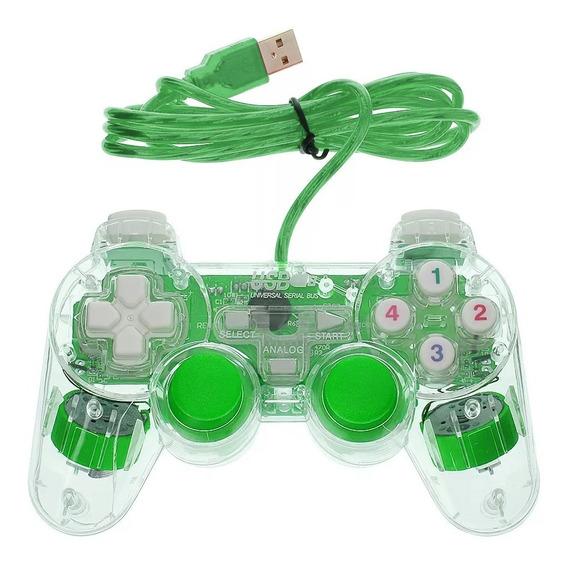 Control Pc Usb Joypad Doble Stick Shock Con Vibración /e /a