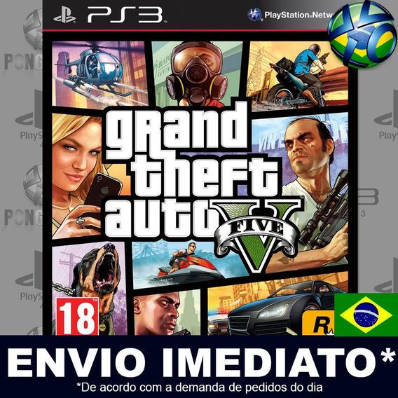 Gtand Theft Auto V Gta 5 Psn Ps3 Promoção Envio Imediato