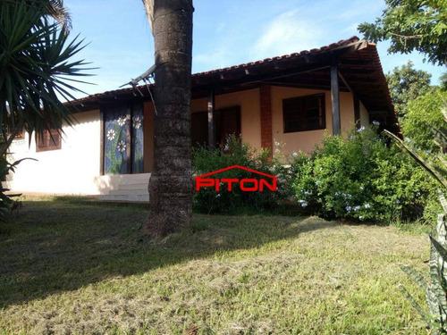 Chácara Com 4 Dormitórios À Venda, 2000 M² Por R$ 450.000,00 - Jaguare - Cedral/sp - Ch0025