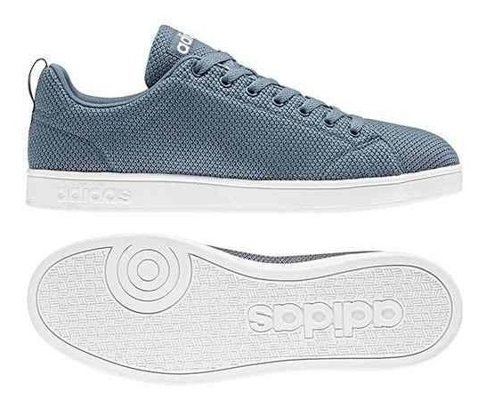 Tenis adidas Advantage Blue Steel