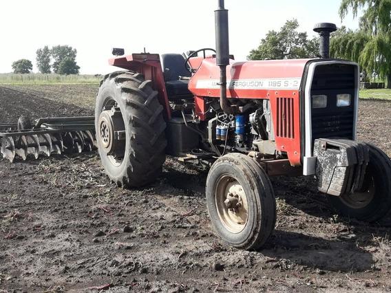 Tractor Massey Ferguson 1195 S2 Año 1992 3 Puntos