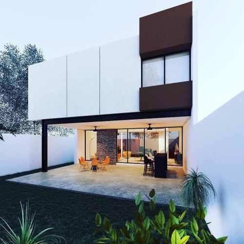Hermosa Casa En Venta En Cholul En Privada Parque Central
