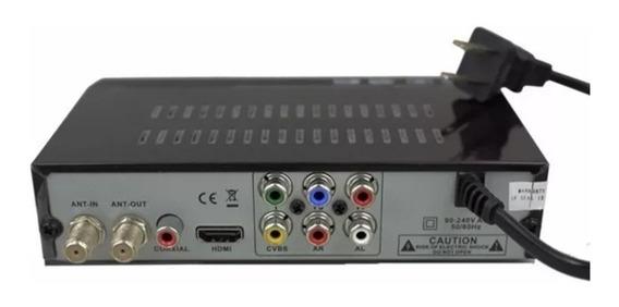 Decodificador Tda Receptor Sintonizador Conversor Tv Digital