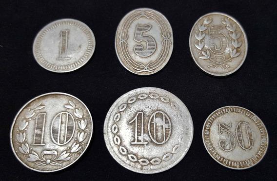 Antigua Moneda Ficha Vale Estancia Almacén. (las 6). 55023