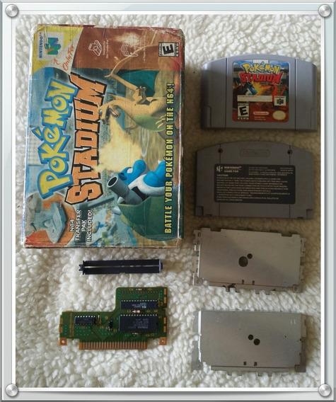 Pokémon Stadium Original N64 + Caixa Original Nintendo 64