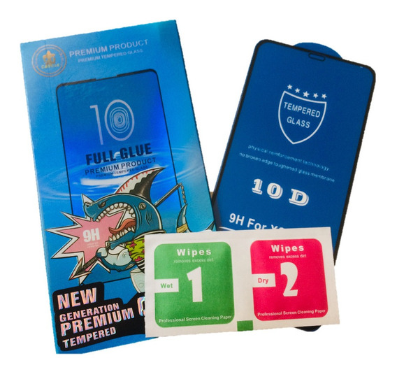 Mica 10d De Cristal Templado Premium Con Borde Para Huawei