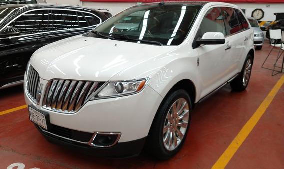 Lincoln Mkx V6 Premier Aut 2013 72000 Km Blanco 5 Puertas
