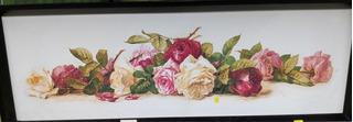 Quadro Floral Decorativo 20x50 Mold.110/15 Pasp