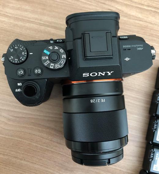 Sony A7rii + 7 Baterias
