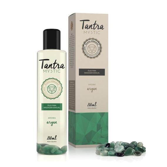 Óleo Massagem Sensual Tantra Mystic Argan - Frete Gratis