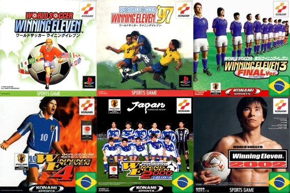 Promoção Coleção 6 Jogos Winning Eleven Ps1 Patch