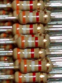 Resistor 3k9 1/4 5% ( 500 Peças )