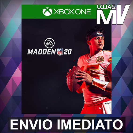 Madden Nfl 20 Standard Código 25 Digitos Xbox One