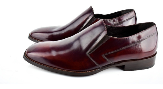 Zapatos Gino Cherruti Color Vino Hombre Oferta