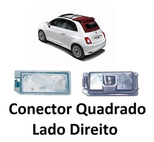 Imagem 1 de 6 de Lanterna Placa Led Fiat 500 Ld Direito Ano 12/... Cód 6036