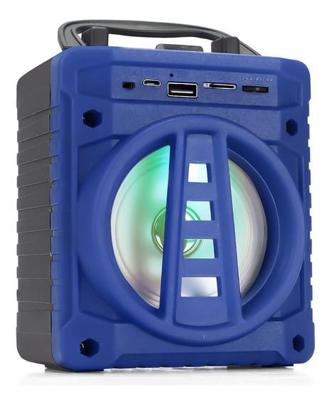 Caixa Caxinha De Som Bluetooth Tws Mp3 Usb P2 Fm Pc Notebook