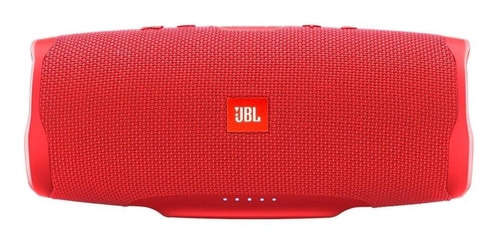Imagen 1 de 6 de Bocina JBL Charge 4 portátil con bluetooth red 110V/220V