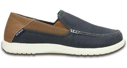 Zapatos Mocasines Crocs Hombre Santa Cruz 2 Luxe Navy