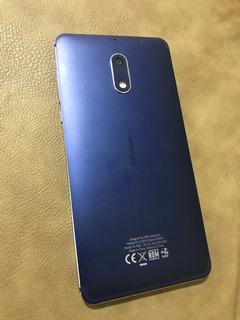 Nokia 6 Azul Dual Sim (10/10) + Accesorios +factura -420.000