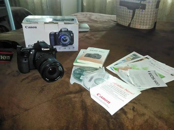 Câmera Fotográfica Canon 60d + Lente Canon 18-135mm