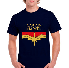 Playera Capitan Marvel ¡leer Descripcion ¡