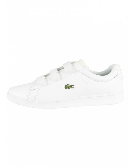 Zapatillas Lacoste Carnaby Evo Strap 119 3 Blanco 65t