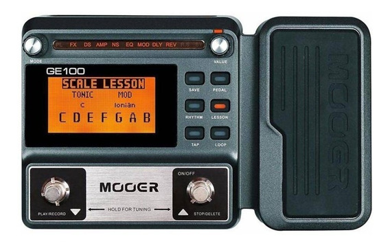 Pedaleira Mooer Ge100 Guitarra Pronta Entrega Mooer Ge 100