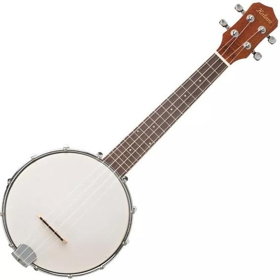 Banjolelê Concerto Kalani Maori Kal600bw Ukulelê Banjo Capa