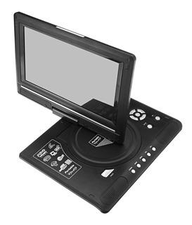 Mini Tv Dvd Portatil 9.8 Fm Usb Sd Av Juegos Bateria