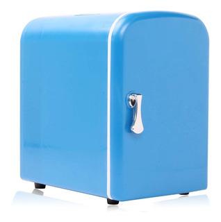 Mini Geladeira E Aquecedor / Cooler De 6 L Van Camping + Nf