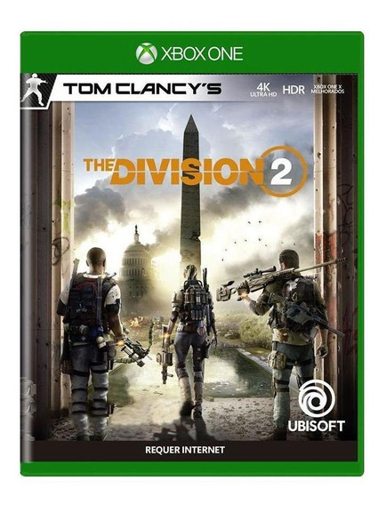Tom Clancys The Division 2 Xbox One Mídia Física
