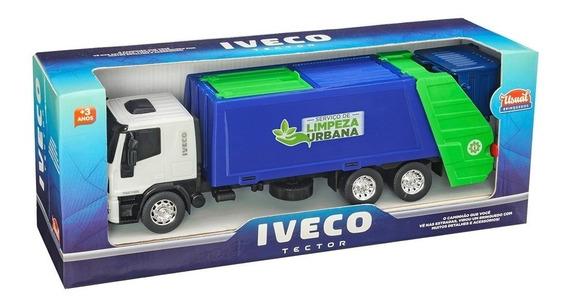 Brinquedo Caminhão Menino Iveco Coletor Lixo Cores Sortidas