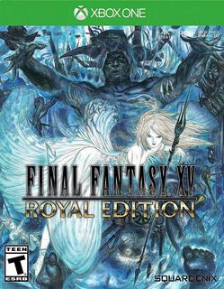 Final Fantasy Xv Royal Edition Xbox One Nuevo Fisico Sellado